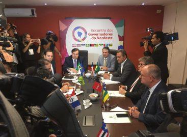 Em Brasília, Belivaldo participa de reunião com governadores do Nordeste