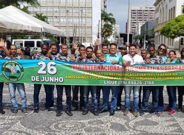 Batalhão da Restauração faz ato no dia internacional de combate às drogas