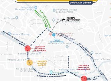 Mobilidade: Prefeitura fará alteração de trânsito na rua Cláudio Batista