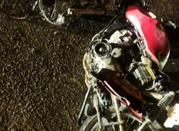 Colisão entre uma moto e um carro deixa um homem morto em Campo do Brito