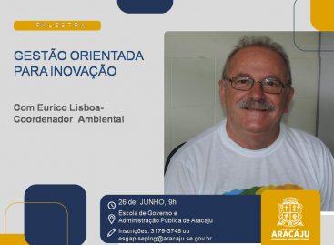 Escola de Governo de Aracaju abre inscrições para palestra sobre gestão inovadora