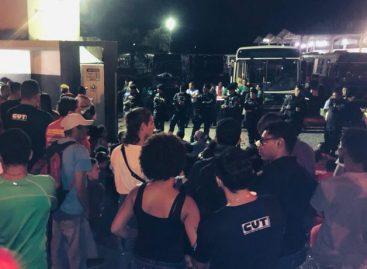 Por aposentadoria, militantes enfrentam repressão policial em Aracaju, diz CUT