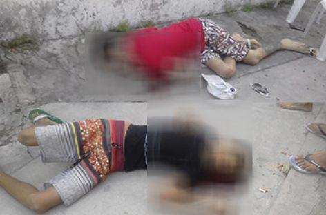 Domingo violento em Itabaiana: dois jovens são assassinados a tiros em frente a residência