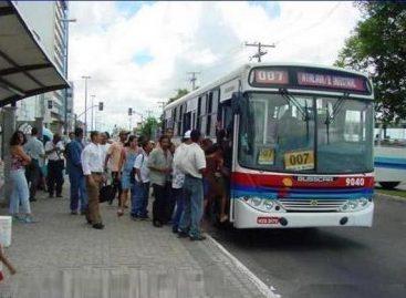 Setransp diz que transporte público coletivo circula com 40% da frota