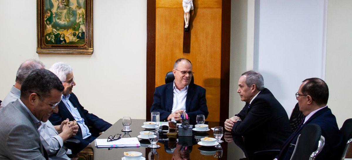 Belivaldo se reune com Diretor-Geral da ANP, Décio Oddone