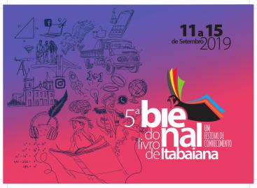 Aberta as inscrições para expor na V Bienal do Livro de Itabaiana