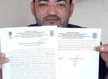 """Cidadão denuncia no Deotap """"escândalo das diárias"""" na Câmara de Capela"""