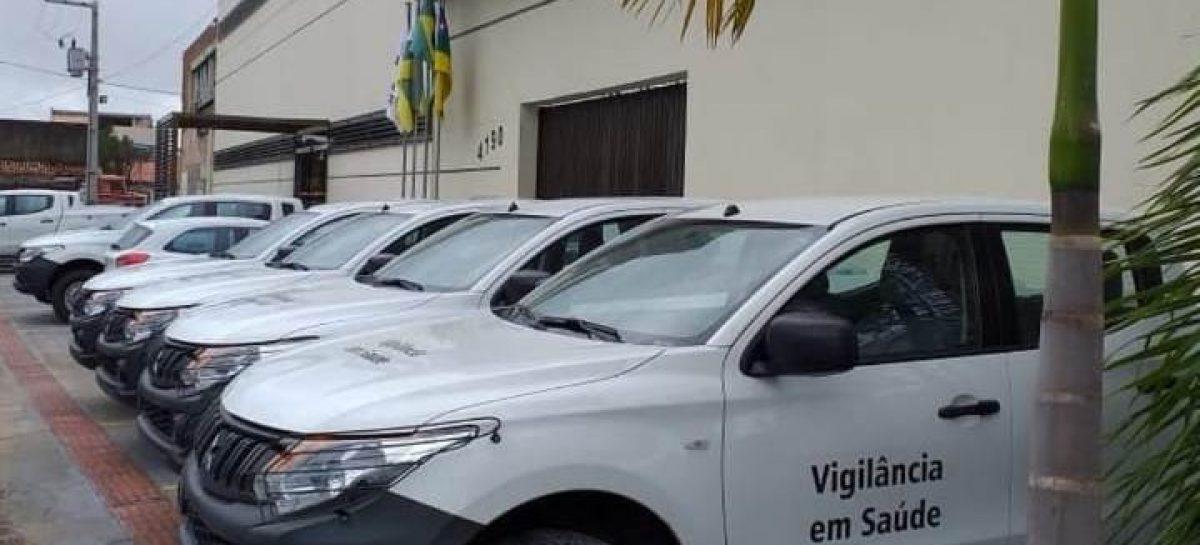 Estado de Sergipe recebe caminhonetes para combate às arboviroses