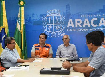 Edvaldo apresenta para Defesa Civil Nacional Plano de Atuação colocado em prática durante chuvas