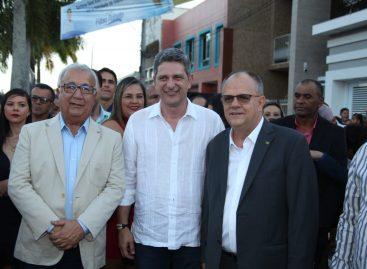 Governador Belivaldo Chagas celebra Senhora Sant'Ana em Simão Dias