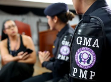 Patrulha Maria da Penha fiscaliza o cumprimento de 182 medidas protetivas