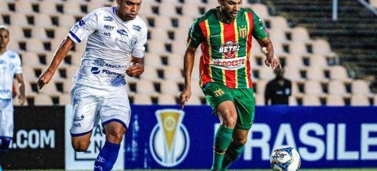 Confiança e Sampaio Corrêa ficam no empate na décima rodada da Série C