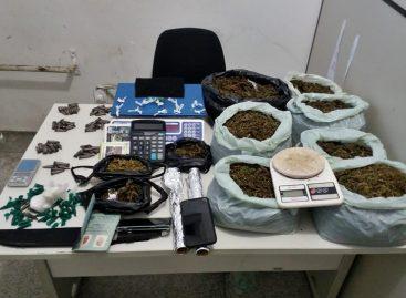 Getam apreende mais de 12 Kg de drogas no bairro Rosa Elze