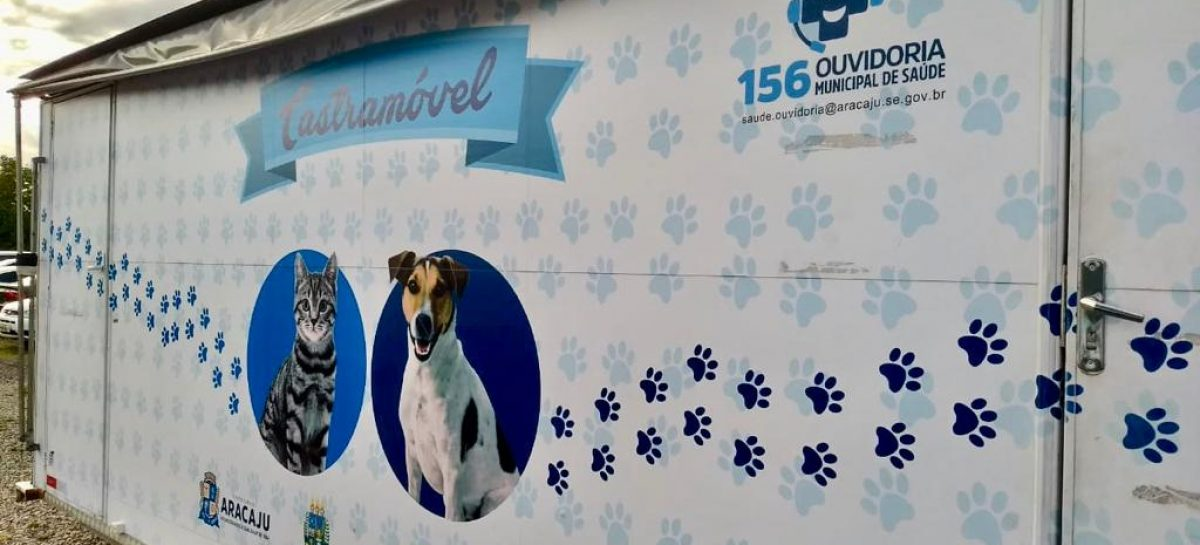 Castramóvel da Prefeitura de Aracaju chega aos bairros Jardim Centenário e Olaria