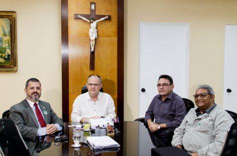 Belivaldo recebe superintendente da Agência Brasileira de Inteligência