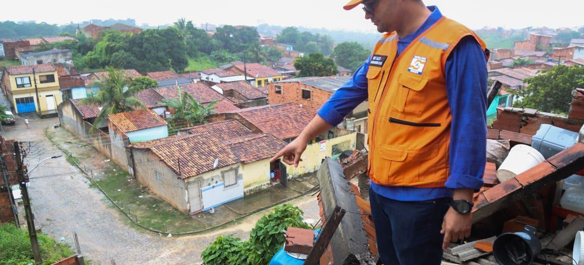 Defesa Civil Estadual divulga balanço parcial das chuvas nos municípios