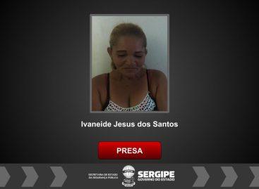 Mulher é presa por tráfico de drogas em Canindé de São Francisco