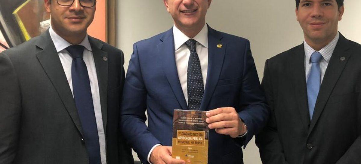 Presidente da APMAJU vai a Brasília em luta pela aprovação da PEC 17
