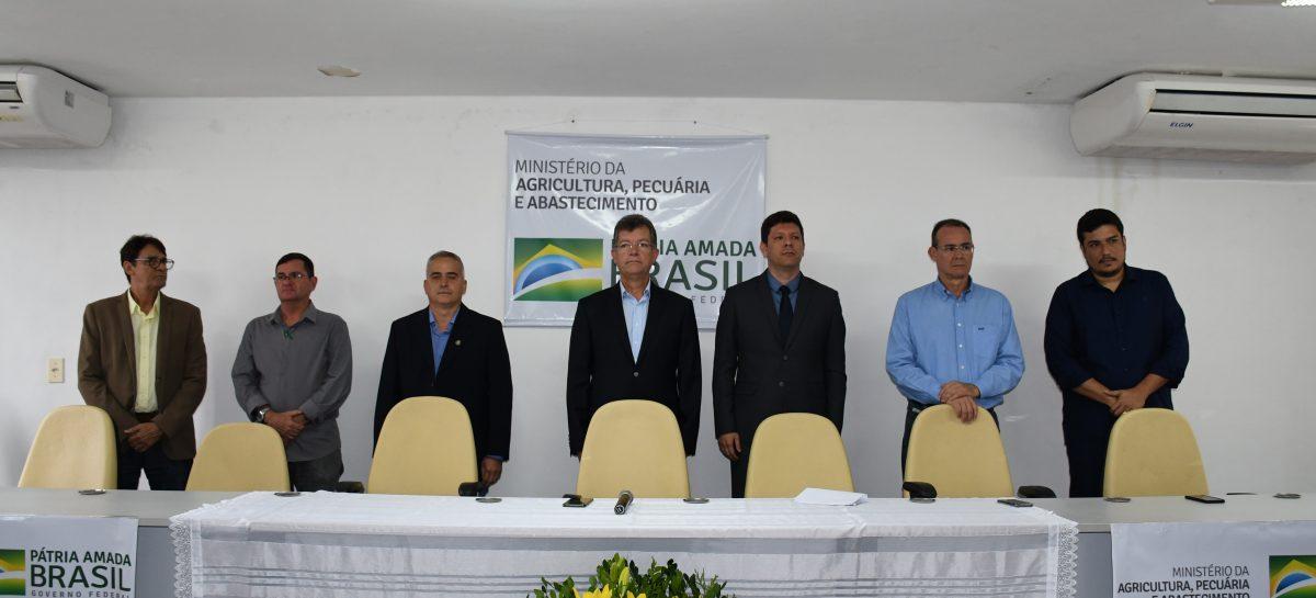 Agrônomo Haroldo Filho toma posse como superintendente Federal da Agricultura em Sergipe