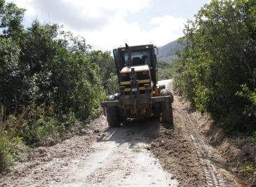 Após chuvas, prefeitura de Itabaiana intensifica trabalhos para recuperar estradas