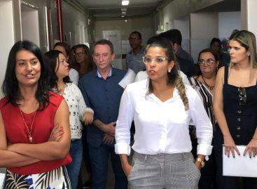 Vice-governador e secretário de saúde iniciam uma agenda de visita às maternidades