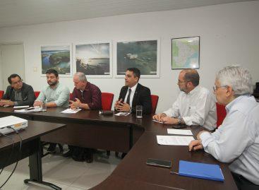 Governo se reúne com a Sergás para tratar da revisão do contrato de concessão