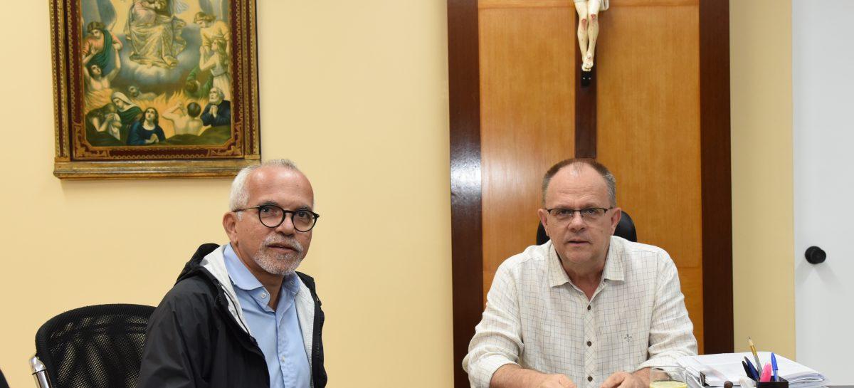 Edvaldo se reúne com Belivaldo: união de forças para enfrentar impacto das chuvas