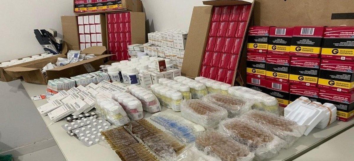 Homem é preso com 840 caixas de anabolizantes e remédios