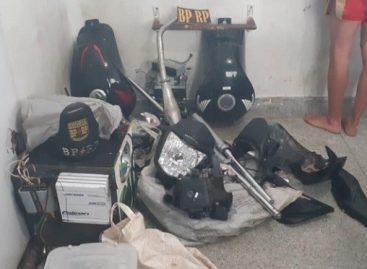 BPRp desarticula quadrilha em operação contra o tráfico e prende seis pessoas no Parque dos Faróis