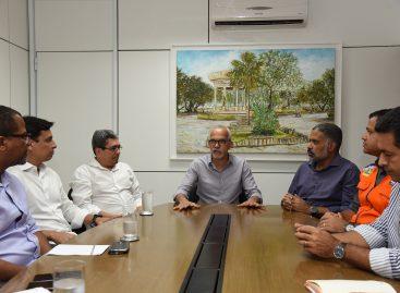 Edvaldo estabelece medidas preventivas a novas chuvas em Aracaju