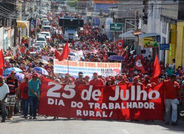 17ª Marcha do MST Sergipe reunirá cerca de 10 mil Sem Terras