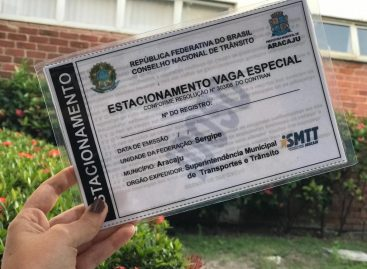 SMTT Aracaju emite mais de 6 mil cartões de vagas preferenciais no 1º semestre