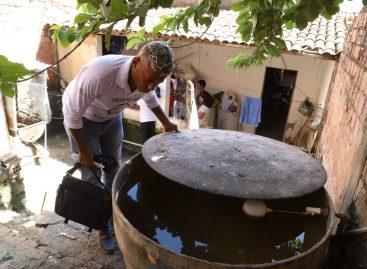 Após período de chuva, população deve ficar atenta aos focos de Aedes aegypti