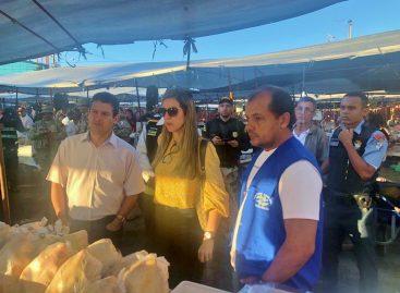 Operação do MP fiscaliza o comércio de carne em Aquidabã