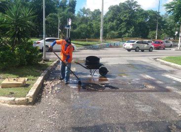 Prefeitura inicia ações de recuperação dos danos causados pelas fortes chuvas na capital