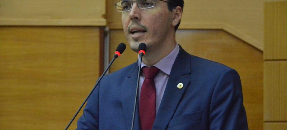 Deputado Georgeo Passos questiona edital da Agrese