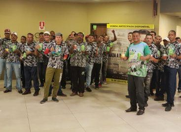 Residentes do Batalhão da Restauração têm dia de lazer e ressocialização