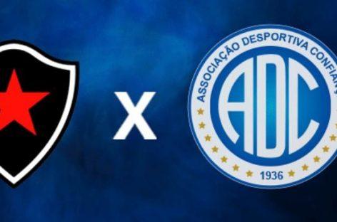 Confiança e Botafogo jogam neste domingo pela décima quinta rodada da Série C