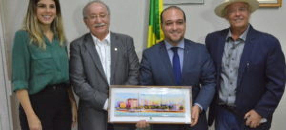 Presidente do Instituto Legislativo do Senado visita a Elese