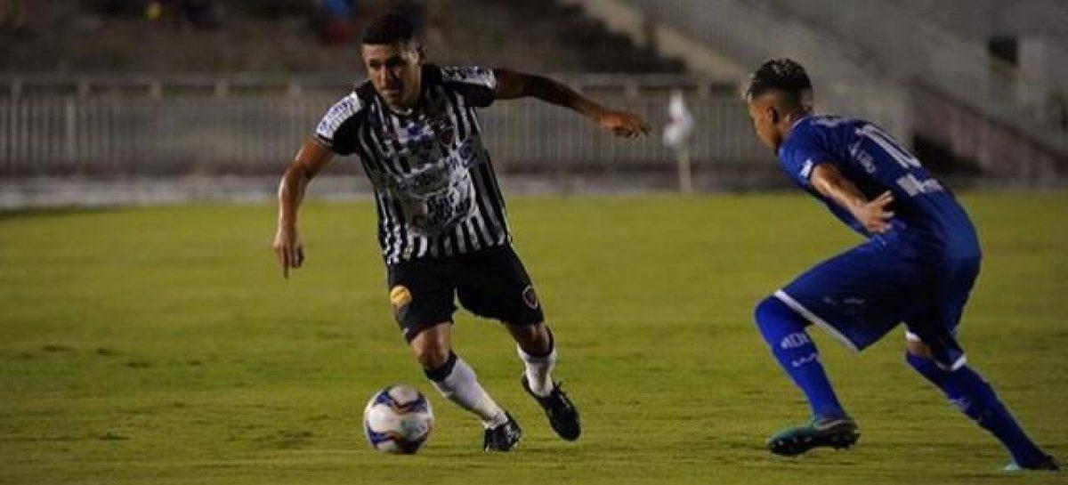 Confiança é derrotado pelo Botafogo-PB, na décima quinta rodada da Série C
