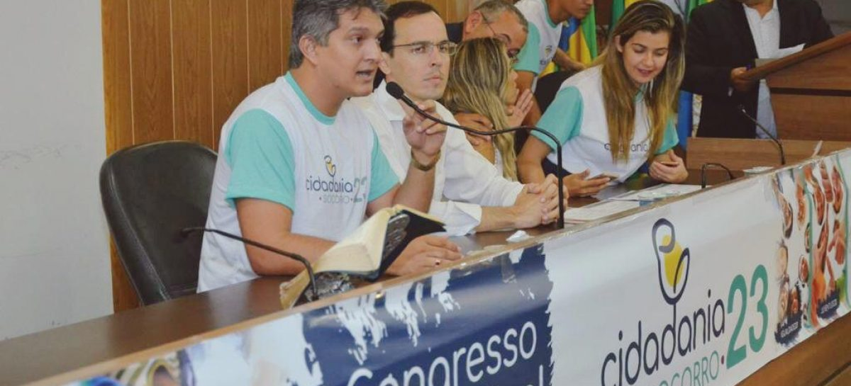 Dr. Samuel é eleito presidente municipal do partido Cidadania 23 em Socorro