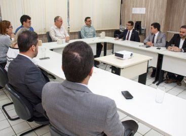 Governador dialoga com representantes dos delegados de Polícia