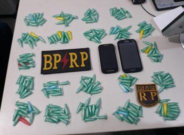 Homem é preso com 212 cápsulas de cocaína prontas para a venda em Socorro