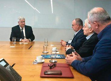 Belivaldo reúne-se com empresa de energia em busca de infraestrutura para transporte de gás