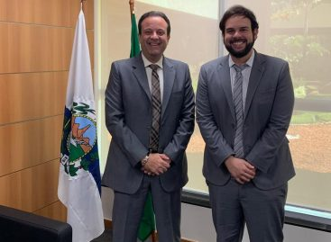 Thiaguinho Batalha se reúne com André Moura em Brasília e debate sobre eleições