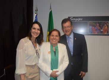 Laércio vai destinar recursos para a construção da Casa da Mulher Brasileira em Sergipe