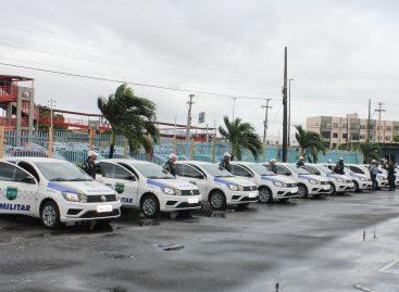 Detran/SE entrega 13 viaturas policiais ao BPRv