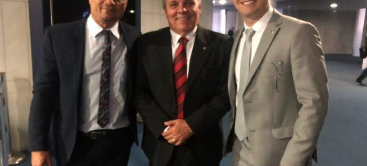 Capitão Samuel participa em Brasília de pautas da PM e Bombeiros