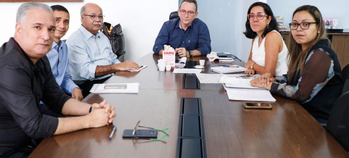 SES avalia parceria com o Hospital do Coração para procedimentos cirúrgicos