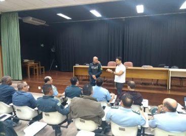 Capitão Samuel participa de reunião do comando com associações militares